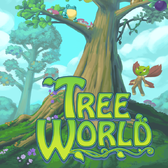 Create a home for critters in the forest in the Playforge's Tree World on iOS