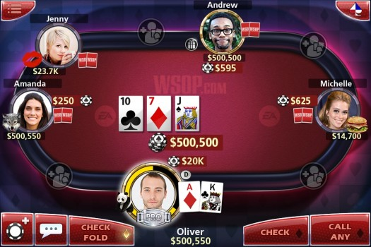 World Series of Poker iPhone iPad