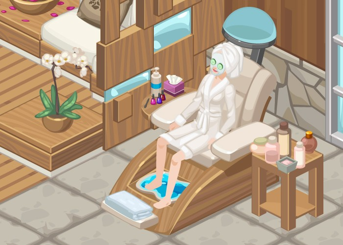 The Sims Social Pampering Week