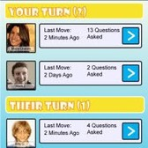 Whoizit? for iPhone: It's 'Guess Who?' with Facebook friends