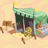 Adventure World Prof. Allen's Artifact Tent: Earn free Adventure Cash each da
