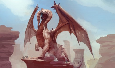 Dragons of Atlantis Helio Dragon