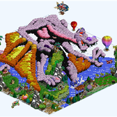 FarmVille Pic of the Day: Crouching Reptile, Winged Dragon by Brayzdin