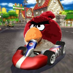 Angry Birds Mario Kart