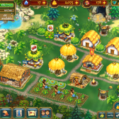 Command your village of followers in The Tribez on iPad
