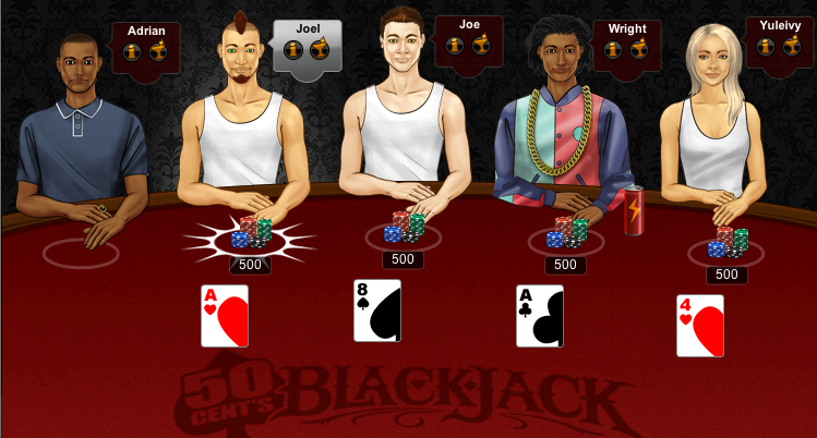 50 Cent's Blackjack