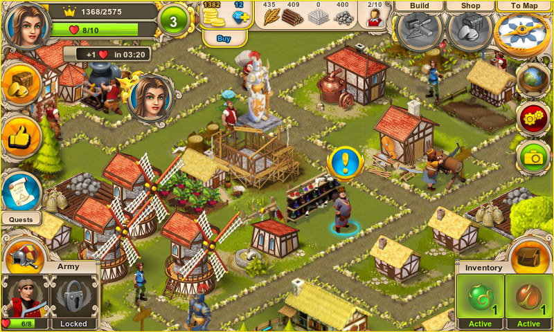 Rule the Kingdom adds city-building to a strategy RPG on ...