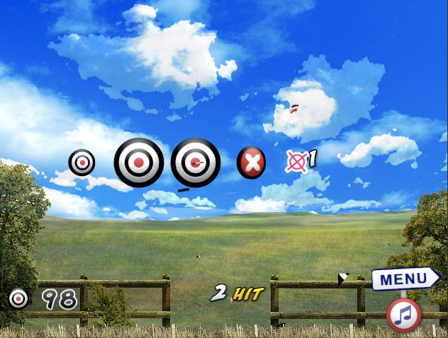 target shooter game of the day