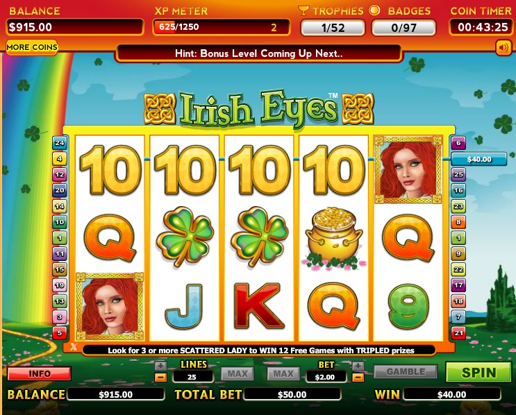 slots game on facebook