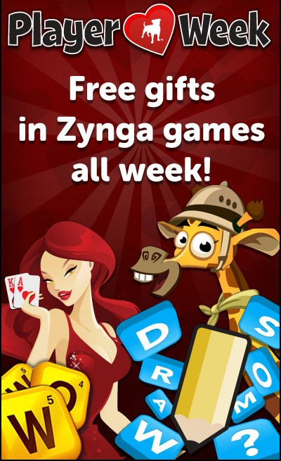 Zynga Player Love Week