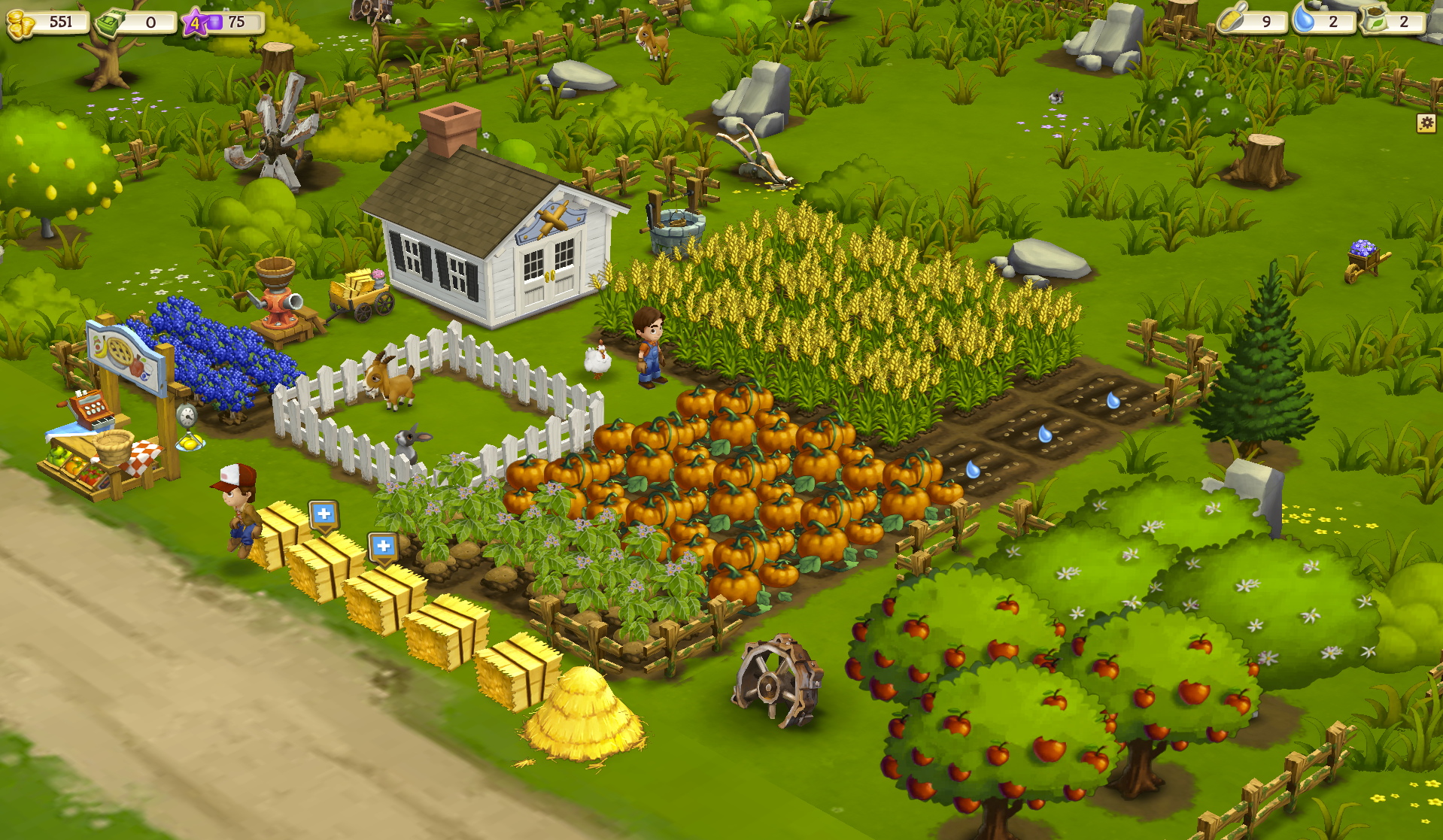 FarmVille 2 Big Harvest