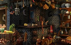 Blackwood &amp; Bell Mysteries Cheats: Kitchen