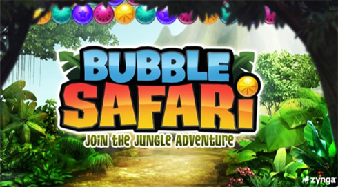 Bubble Safari Zynga logo