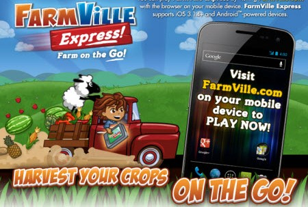 FarmVille Express promotion