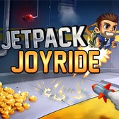 Jetpack Joyride on Facebook, so you can sneak it in at
