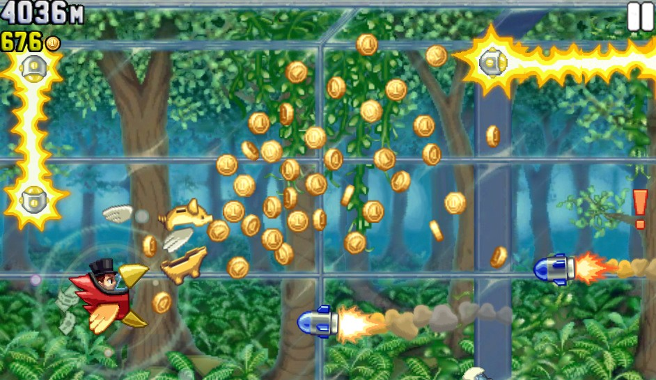 Jetpack Joyride Profit Bird