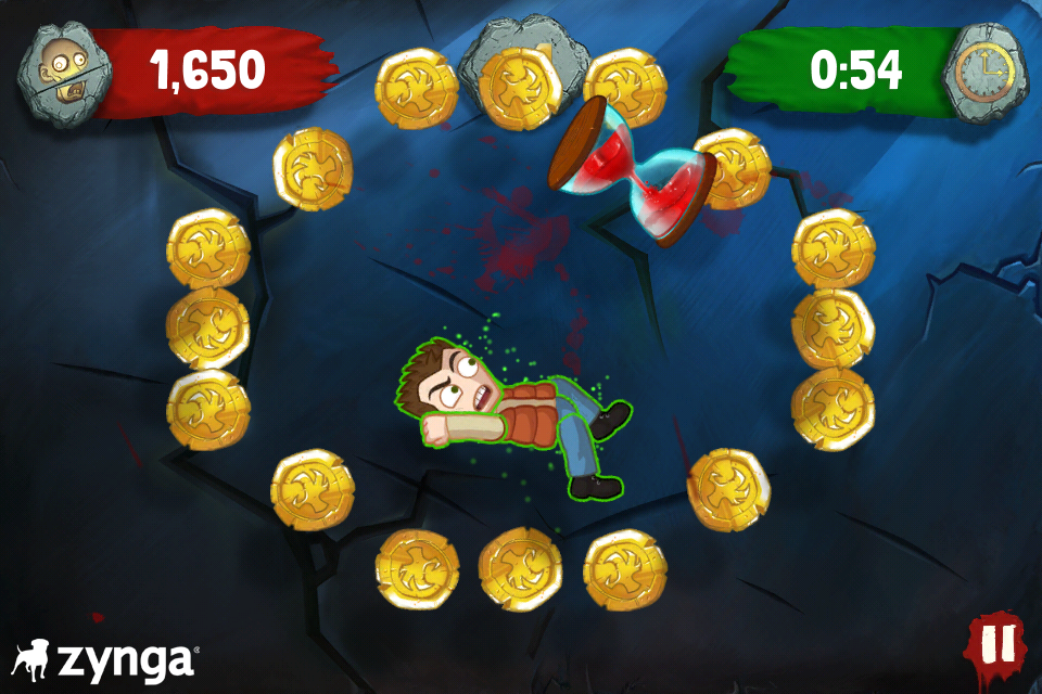 Zombie Swipeout Coins