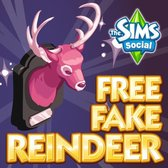 The Sims Social: Free pink reindeer heads for all!