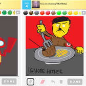 Draw Something Tumblrs on, thanks to Pikachu and Hitler