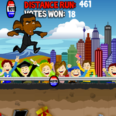Help Obama and Romney run for the presidency ... literally