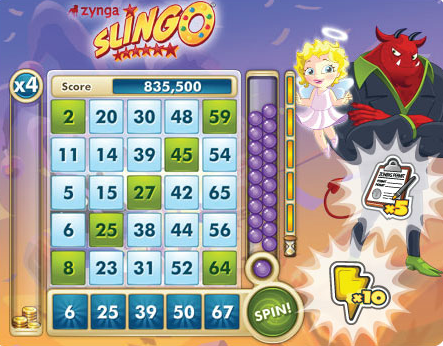 5 card slingo play online
