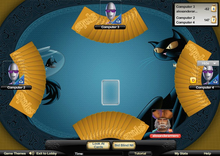 how to play spades online