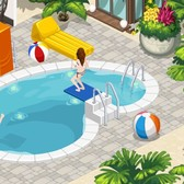 Pimp out your pool in The Sims Social's Pool Party Splashdown Week