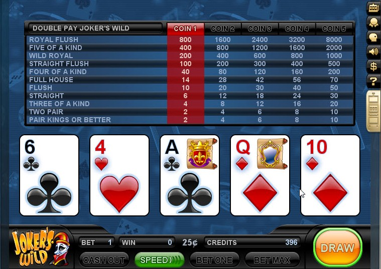 Today s Game of the Day is a Games.com favorite: Video Poker