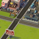 SimCity Social Cheats & Tips: Use the train system for cheap Materials