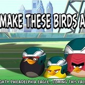 Angry Birds go for the gridiron with Philadelphia Eagles this fall