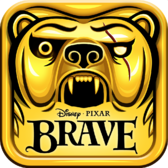 Temple Run: Brave on iPhone: Running with the sam