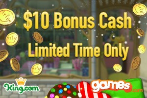 cash games games.com king.com voucher