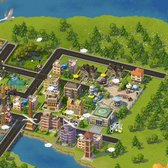 SimCity Social Cheats & Tips: Interact with buildings for free parts