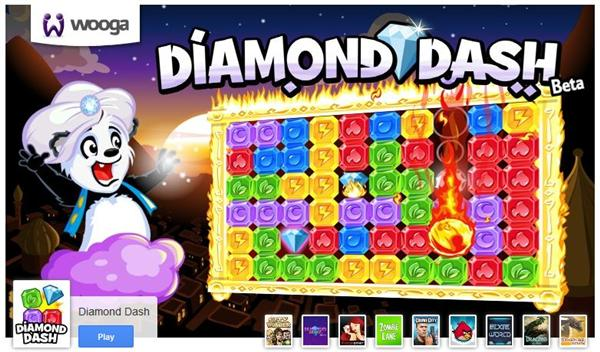 Diamond Dash Google+