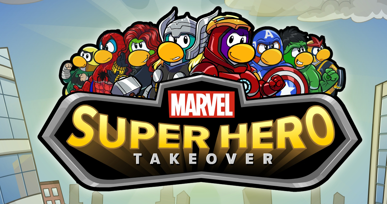 Club Penguin Marvel Super