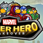 Club Penguin gets leotard-laden for Marvel Super Hero Takeover