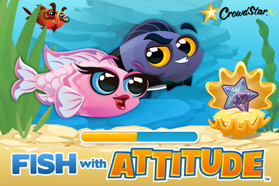 fish with attitude on ios is happy aquarium with a