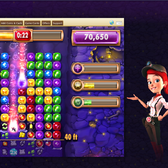 Ruby Blast digs into Facebook's growing world of match-three games