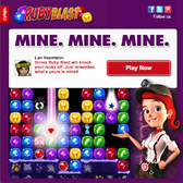 Zynga hops into match-three game scene with Ruby Blast [Report]
