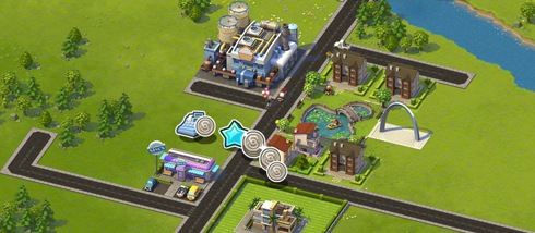 SimCity Social on Facebook