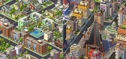 SimCity Social vs CityVille