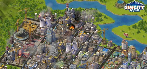 SimCity Social screens
