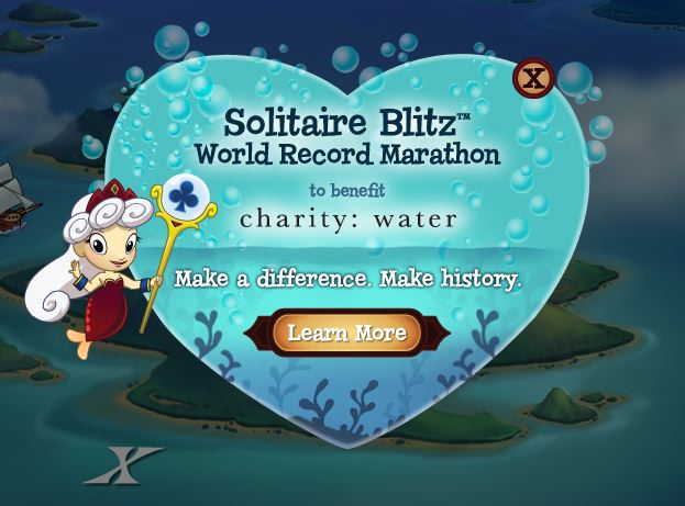 solitaire blitz world record marathon