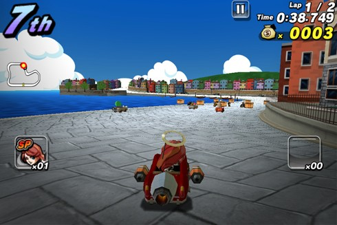 Wacky Motors screens