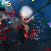 Zombie Swipeout on iPhone: A swipe in the right dir