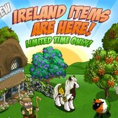FarmVille Ireland Items: Blue Bell Tree, Kerry Blue Terrier and more
