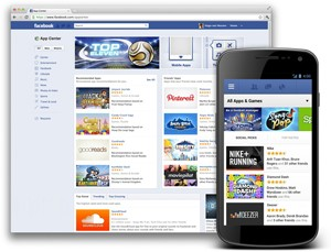 Facebook App Center global