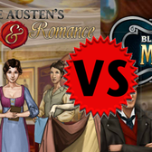 Facebook Game Face-off: Blackwood & Bell Mysteries vs Jane Austen's Rogues & Romance