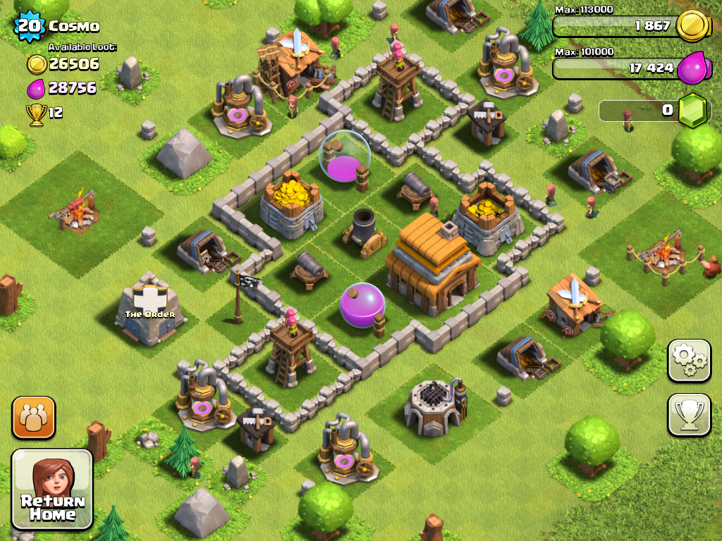 Clash of Clans – Beg