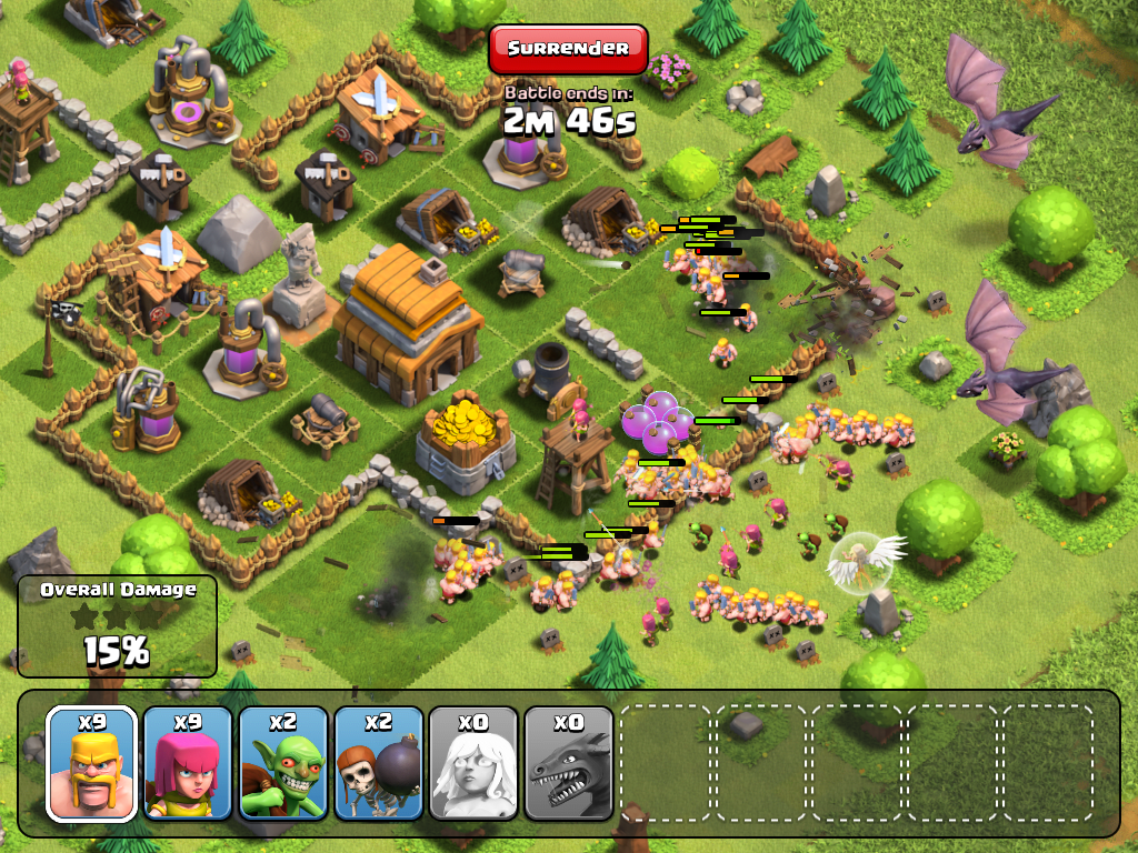 Clash of Clans: Lead your clan to victory on iOS